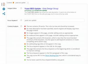 Yoast SEO Update